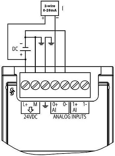 s7-1200plc的模拟量输入输出接线方法